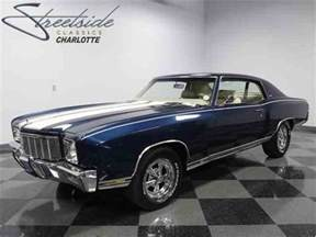 Chevrolet Montecarlo Classic Chevrolet Monte Carlo Ss For Sale On Classiccars