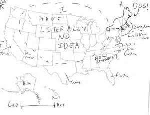 us map quiz write in we asked brits to label the united states again because