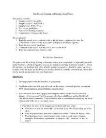 How To Write A Peer Review Paper In Peer Essay Quotes Quotesgram