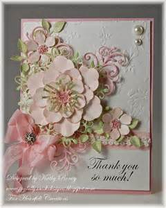 How To Make Handmade Mothers Day Cards - joyfully made designs thank you so much heartfelt creations