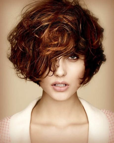 curly hairstyles and colors very short curly hairstyles 2016
