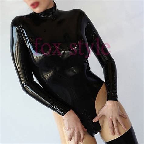 latex rubber tutorial aliexpress com buy sexy rubber classical jumpsuits latex