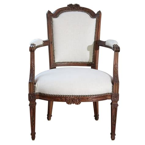 upholstered armchairs for sale period louis xvi 18th century upholstered armchair