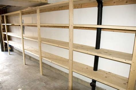 plans for garage storage shelves image mag