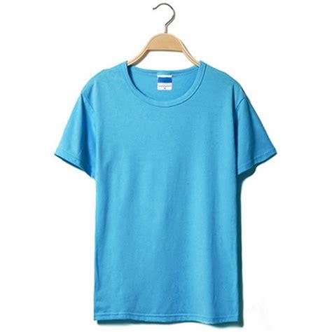 Kaos T Shirt Pria On kaos polos katun pria o neck size m 86102 t shirt blue jakartanotebook
