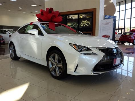lexus christmas the big holiday bows on cars are an american success story