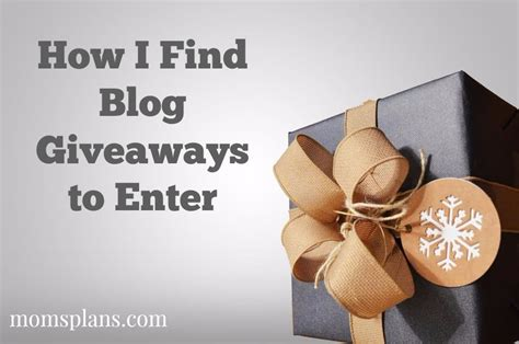 How To Find Giveaways On Facebook - how i find giveaways to enter mom s plans