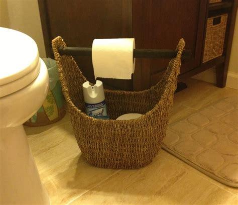 small bathroom baskets 31 magazine basket used in a small bathroom as toilet roll