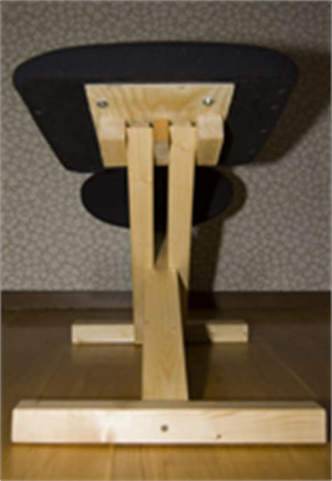 building  diy balance chair