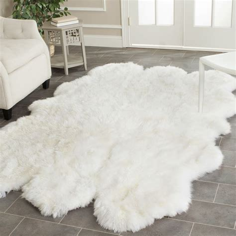 white skin rug with discover and save creative ideas
