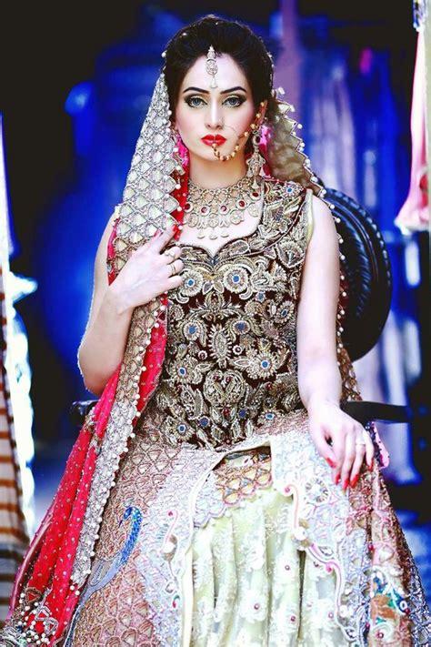 latest pakistani bridal wedding dresses  collection