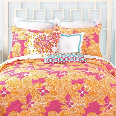 patterned coverlet floral king coverlet trina turk