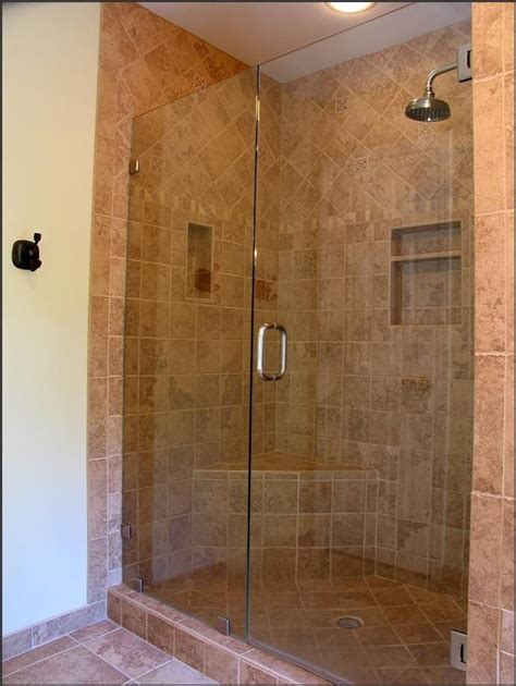 Shower Doorless Tile Amazing Shower Ideas For Small Shower Designs For Small Bathrooms