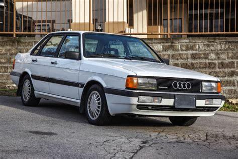 how cars engines work 1985 audi 4000s electronic throttle control 1985 audi 4000s quattro 5 speed diff locks 113k miles original paint rust free for sale audi