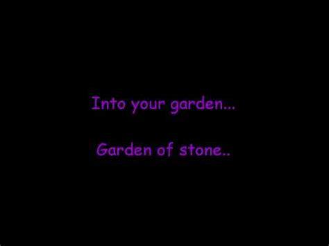 Pearl Jam Garden Lyrics by Pearl Jam Garden W Lyrics