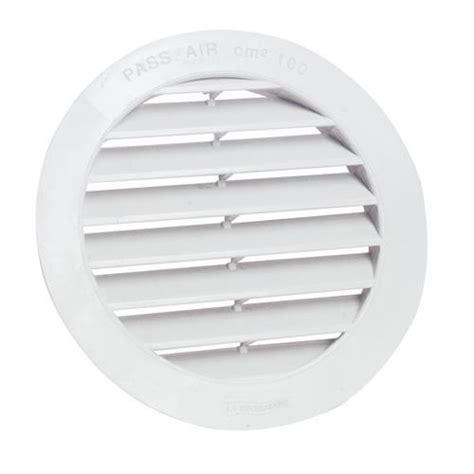 grille ventilation cuisine grille de ventilation ronde diam pvc 125 pa achat