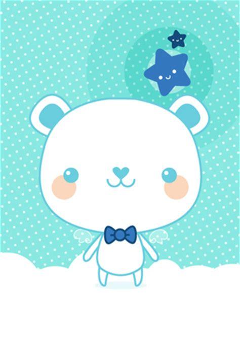 wallpaper iphone blue cute cute blue bear iphone wallpaper idesign iphone