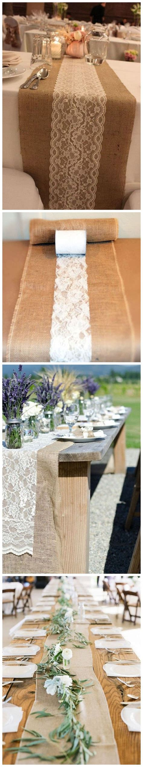 wedding table runners for tables best 20 rustic wedding tables ideas on burlap