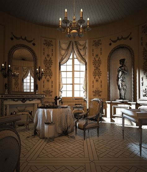 royal dining room royal dining room scene 3d model cgtrader com