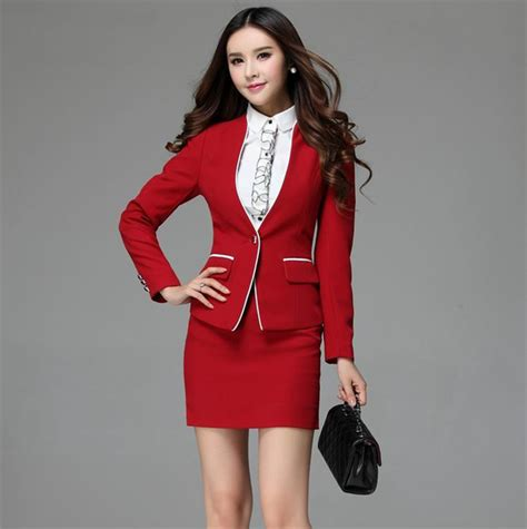 female work suits 2014 buy summer fashion green blazer women business suits skirt