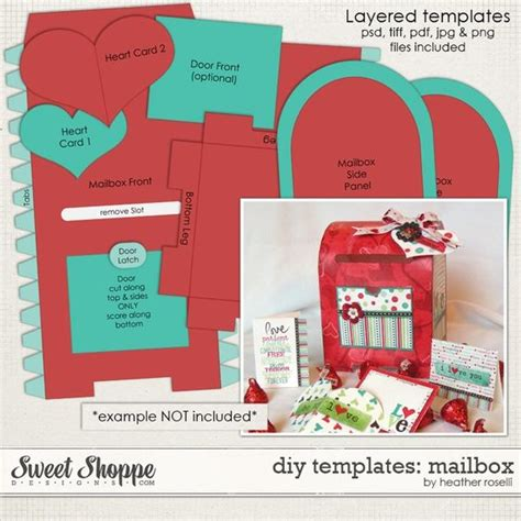 diy templates mailbox by heather roselli happy