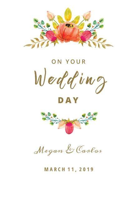 Wedding Congratulations Cards (Free)   Greetings Island