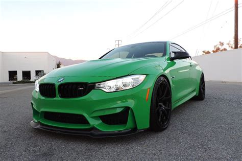 green bmw m4 graham rahal s signal green m4 is for sale bmw car
