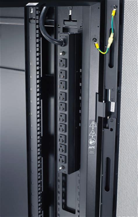 Pdu In Server Rack by Apc Ap9560 Basic 1u Pdu 30a 120 120vac L5 30p 10 5