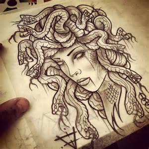 Medusa tattoo on tumblr