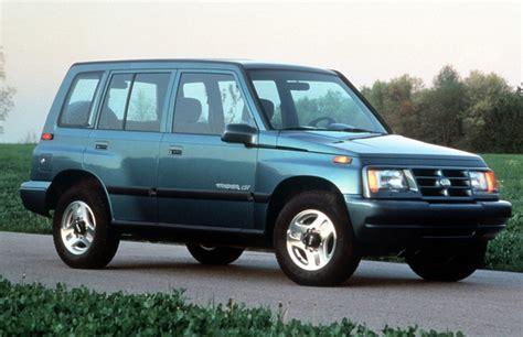 how cars work for dummies 1996 geo tracker seat position control гео тракер история модели фото цены
