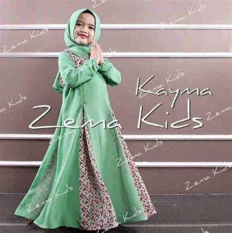 Baju Muslim Syari Anak 19 gambar baju syari untuk wanita muslimah masa kini 2018