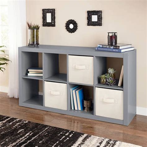homes  gardens  cube organizer multiple colors