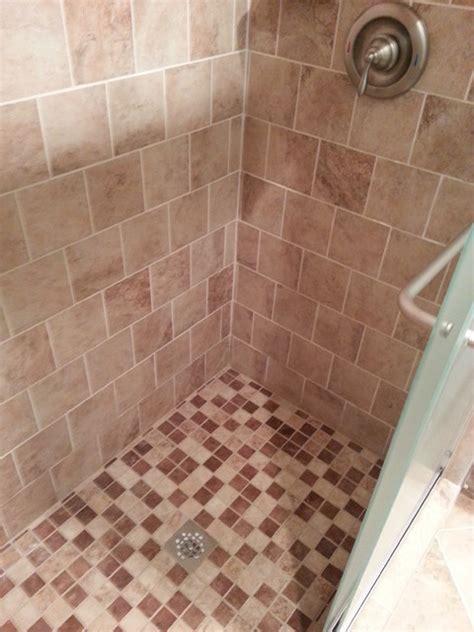 mesa beige tiles traditional bathroom detroit