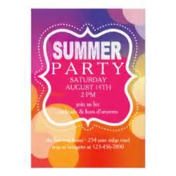 summer invitations announcements zazzle co uk