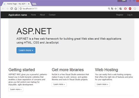 asp net templates customizing asp net mvc bootstrap templates