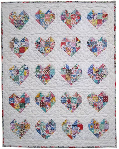 quilt pattern hearts emily s doll heart quilt q is for quilter