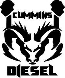 Dodge Ram Decals And Stickers Cummins Diesel Ram Dodge Logo Vinyl Decal Sticker