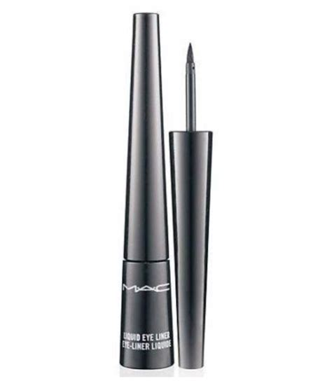 mac liquid eyeliner black 2 5 ml buy mac liquid eyeliner