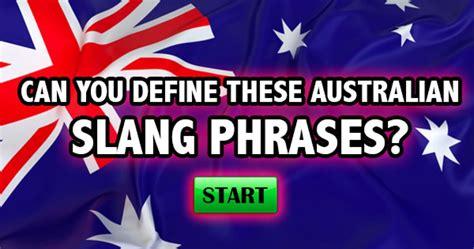theme melody definition quizfreak can you define these australian slang phrases