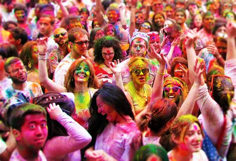 festival of colors nyc holi celebrations in new york city showcases indian
