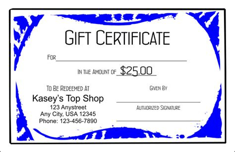 gift certificate template indesign 100 gift certificate template indesign sle gift