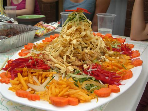 yee sang new year recipes new year on new years