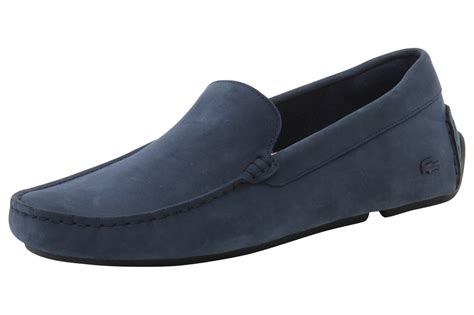 lacoste leather loafers lacoste s piloter 316 1 leather loafers shoes