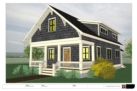 Tiny House Plans With Dormers No 11 The Madrona The Small House Catalog