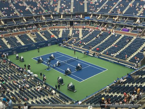 Are Courts Open On - cities 101 the us open tennis court slamboni crew