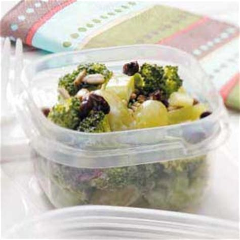 broccoli grape salad recipe taste of home