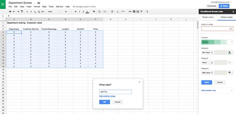 format date google sheets appscare how to add gradient conditional formatting