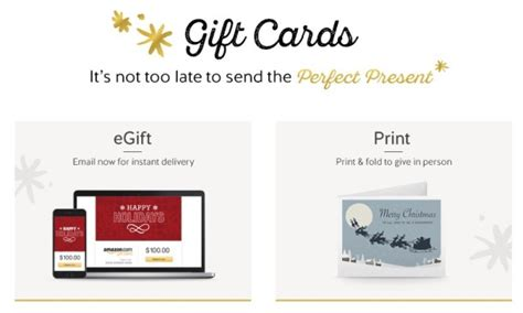 Amazon Email Gift Card Not Delivered - the ultimate slacker last minute gift guide
