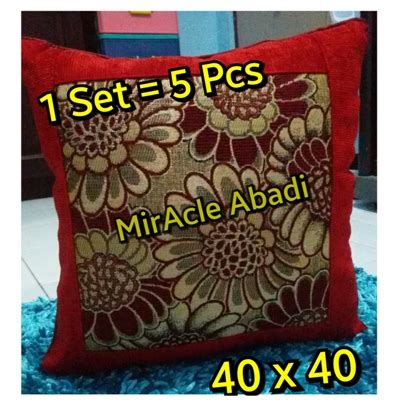 Isi Bantal Sofa Kursi Cushion 40x40 2 grosir bantal sofa dacron sofa the honoroak