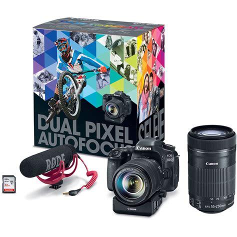 Kamera Canon Eos 80d Kit 18 135mm Is Nano Usm Paketan Garansi Resmi canon eos 80d dslr with 18 135mm and 55 250mm